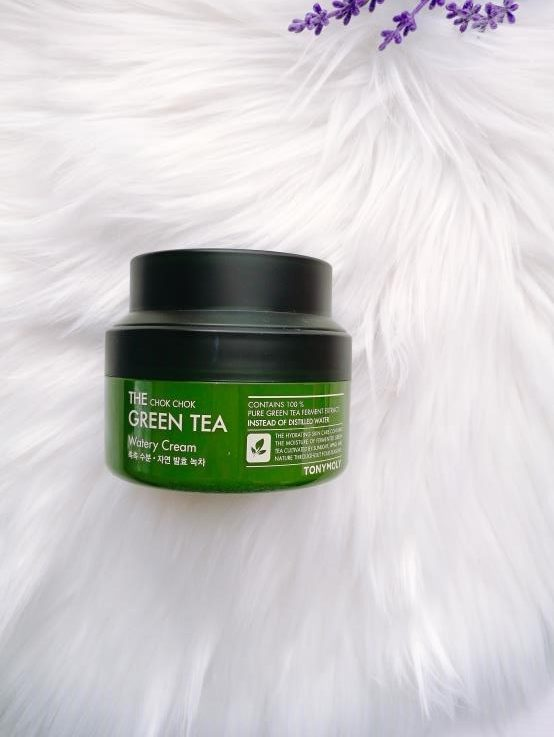 Tony Moly Chok Chok Green Tea Watery Cream