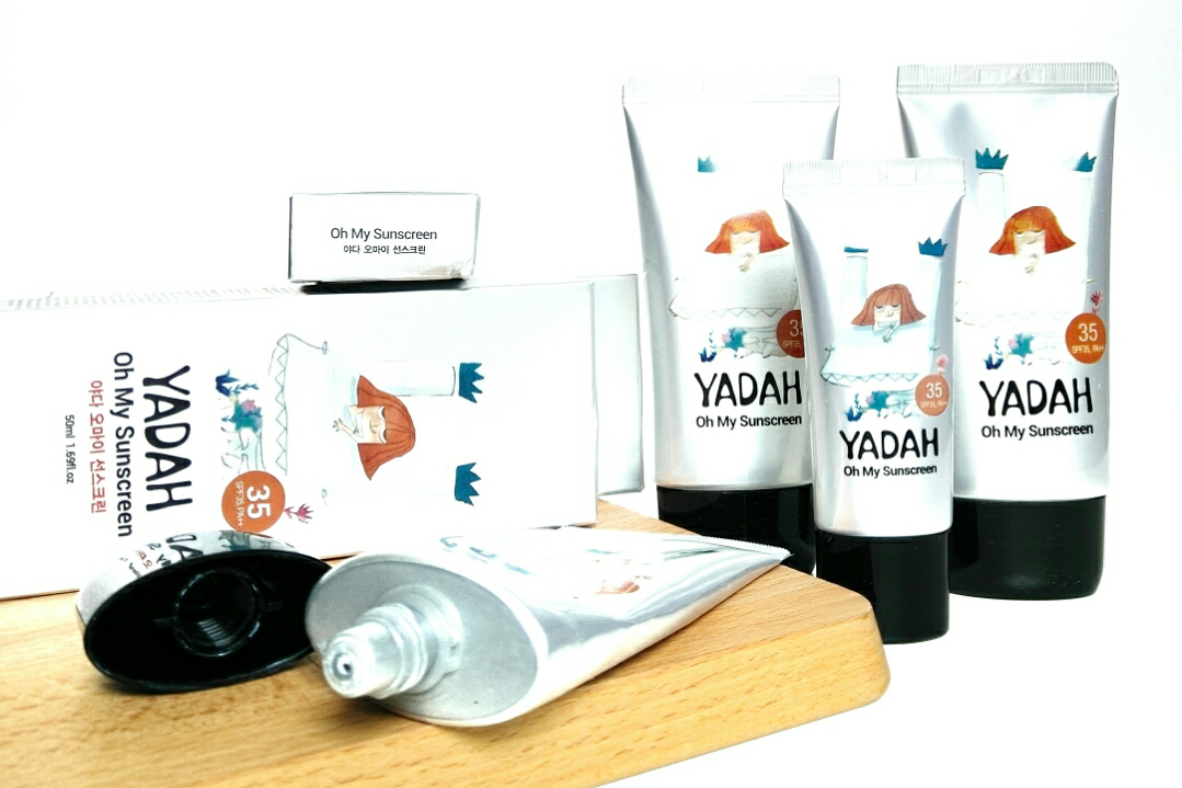 My review on the Yadah Oh My Sun Screen SPF 35 PA++
