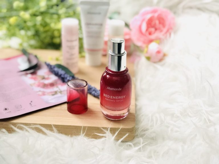 REVIEW: Mamonde Red Energy Recovery Serum - Beauty Memo