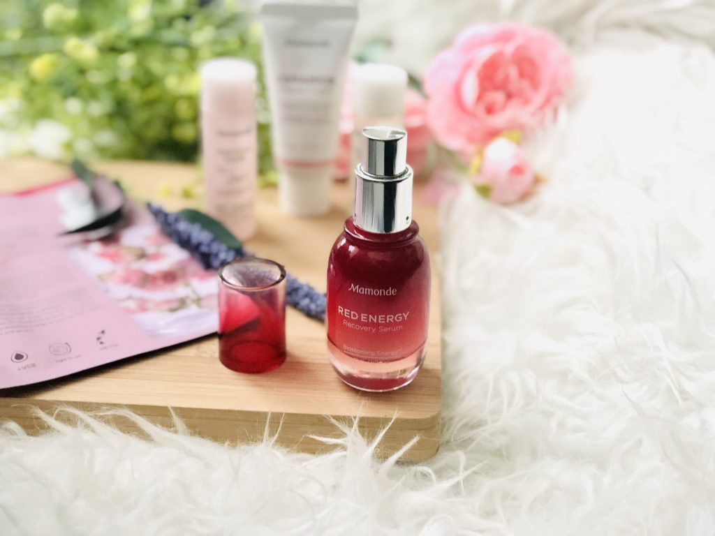REVIEW: Mamonde Red Energy Recovery Serum