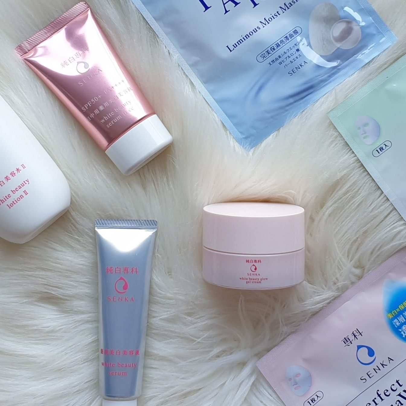Brighten Up with Senka Skincare & Face Masks