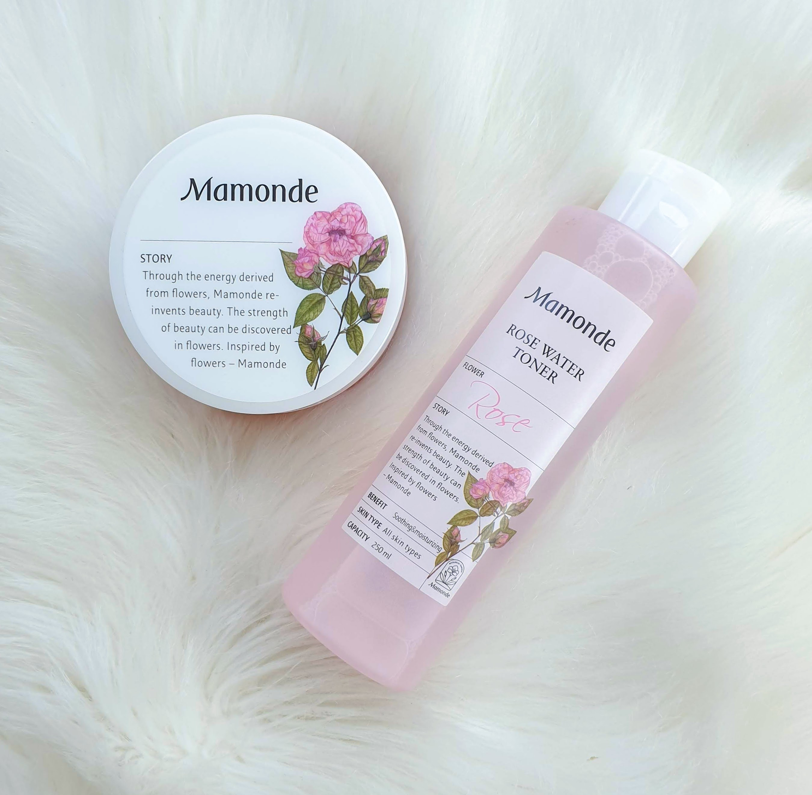 Mamonde Rose Water Toner & Toner Pad | Review