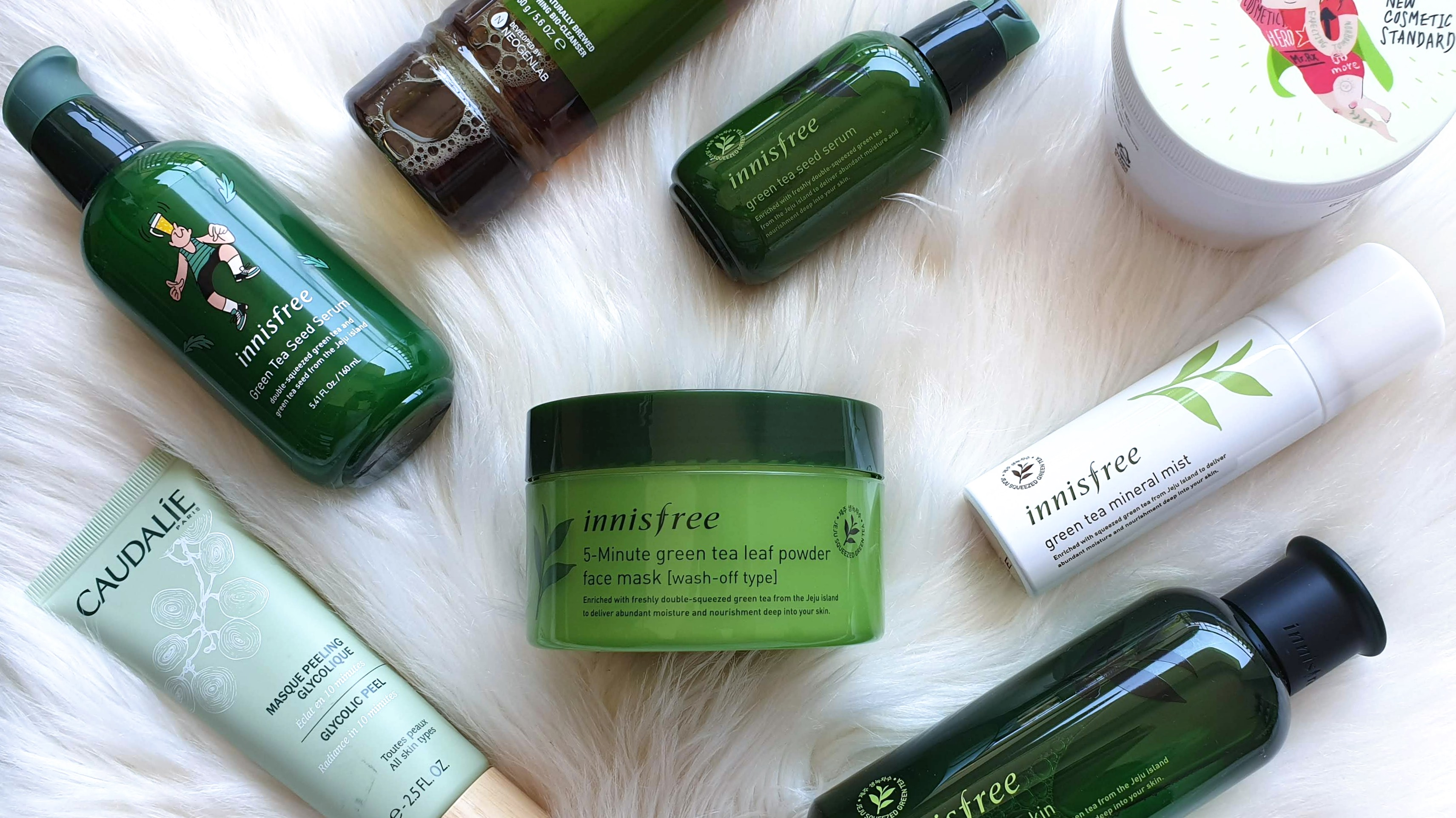 Innisfree 5-Minute Green Tea Leaf Powder Face Mask (Wash-Off Type) | Review