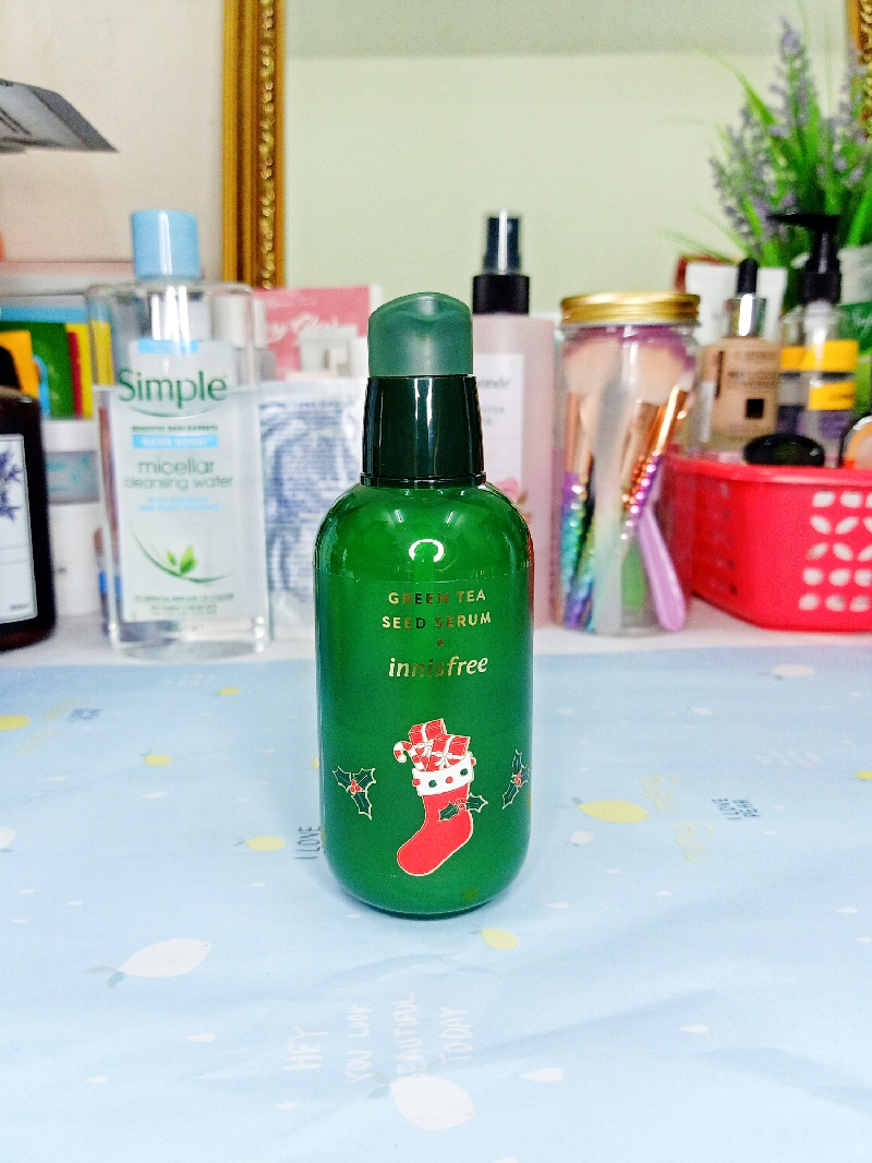 Innisfree Green Tea Seed Serum Review